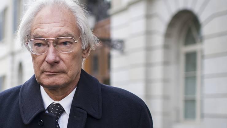 Rolf Erb nach der Urteilsverkündung vor einem Jahr.