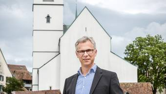 Kirchenratspräsident Christoph Weber-Berg