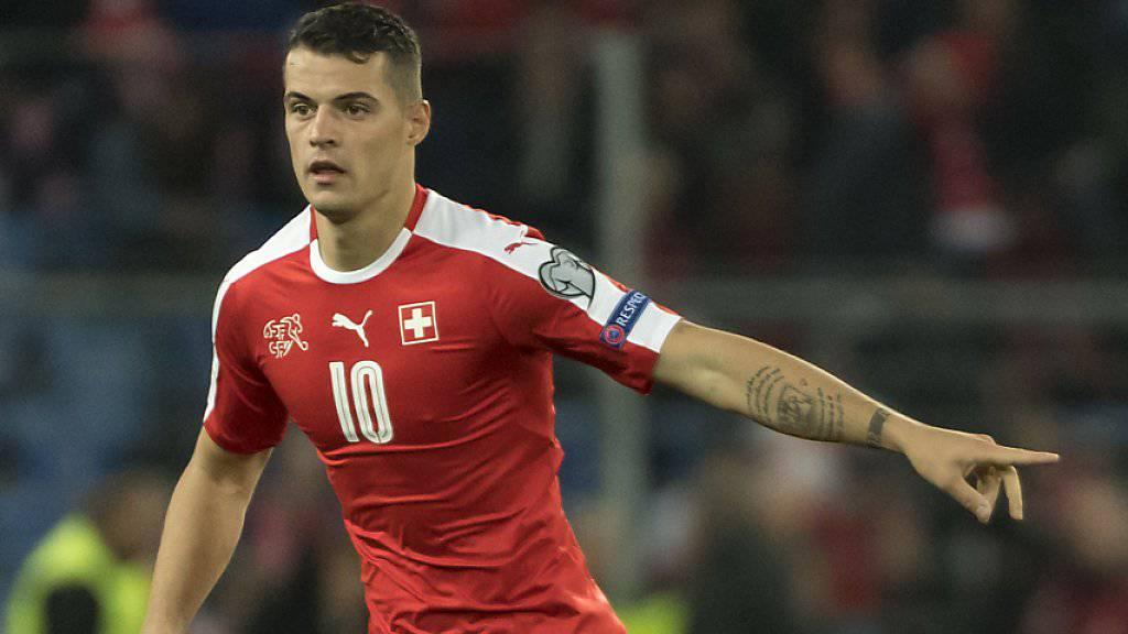 Granit Xhaka und die Schweiz wollen den Umweg an die WM-Endrunde erfolgreich meistern