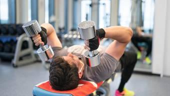 Auch im Sommer pumpen viele im Fitnessstudio.