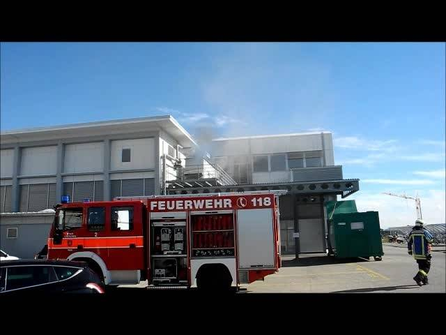 Brand bei DePuy Synthes in Grenchen
