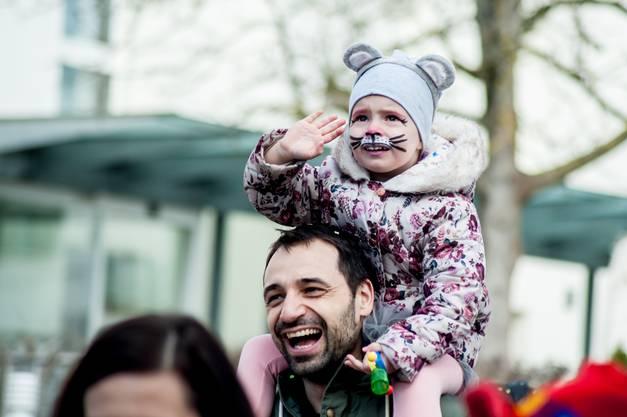 Kinderumzug der Fasnacht in Obersiggenthal