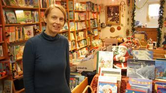 Letztmals steht Sabine Schafroth mit ihrer Säli Buchhandlung im Weihnachtsgeschäft.