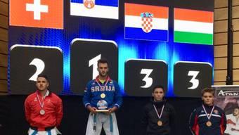 Maurice Rösch, 2. Platz in Kata / U21.