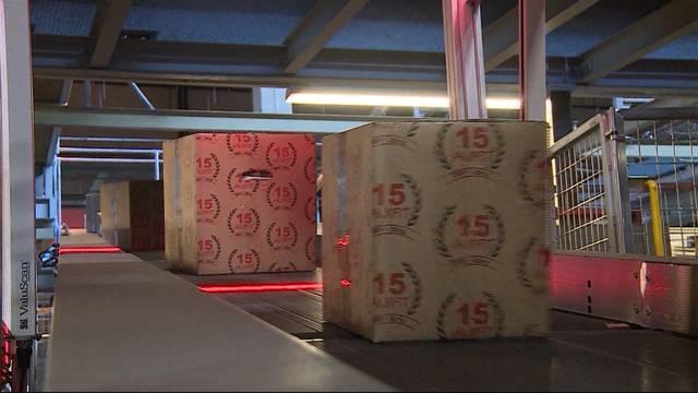 18 Millionen Päckli im Dezember verschickt