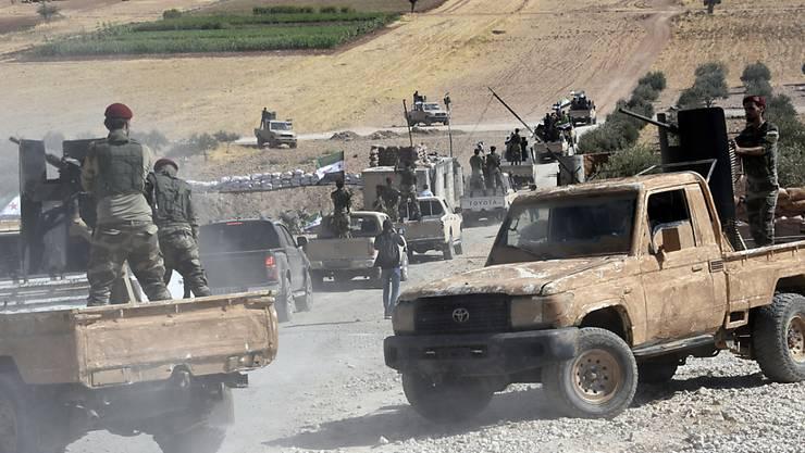 US-Soldaten sind an der türkisch-syrischen Grenze bei Kobane unter türkischen Beschuss geraten. (Symbolbild)