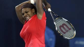 Serena Williams lässt ihrem Frust freien Lauf