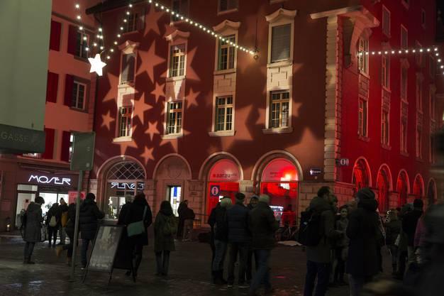 Nightshopping in Aarau