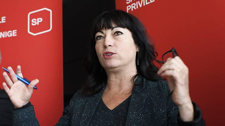 SP-Ständerätin Géraldine Savary. (Archiv)
