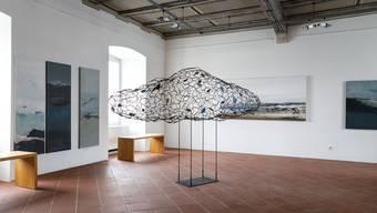 Ausstellung von Rudolf Tschudin und Thomas Grogg im Schlösschen Vorder-Bleichenberg, Biberist,