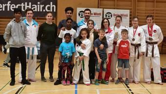 Die Nordwestschweizer Karatekas sammelten ganze 17 Medaillen.