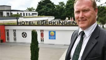 David Mylius, neuer Geschäftsführer des «Comfort Hotel» in Egerkingen.