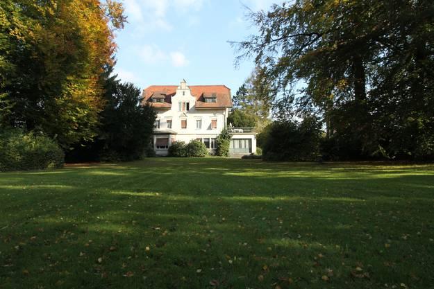 Die Villa Breitenegg in Kölliken soll abgerissen werden. Früher fanden hier legendäre Tanzabende statt.