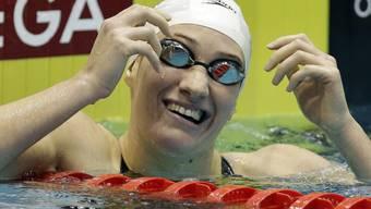 Camille Muffat weltschnellste Schwimmerin über 800 m Crawl.