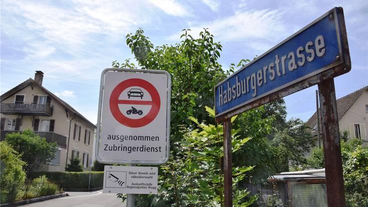 Habsburgerstrasse in Brugg