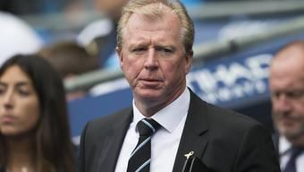 Steve McClaren muss sich einen neuen Job suchen