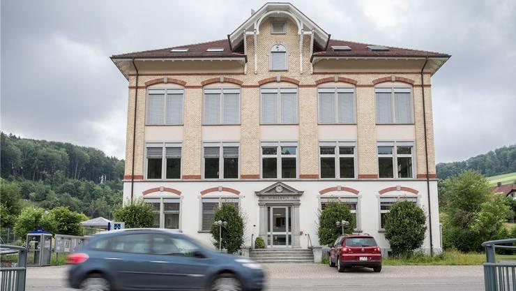 Das Gemeindehaus von Schlossrued.