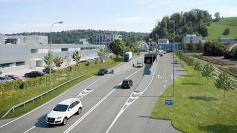Bald werden die Arbeiten am überlasteten Knoten Neuhof am A1-Zubringer in Lenzburg beginnen.