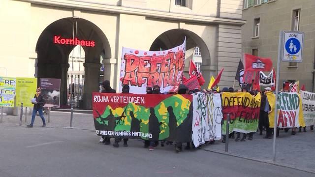 Ermittlung gegen die Afrin-Demo ist abgeschlossen