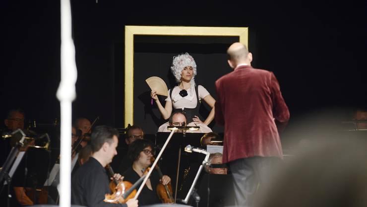 Emmerich Kálmáns Operette «Die Zirkusprinzessin» von der Bühne Burgäschi