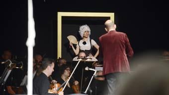Emmerich Kálmáns Operette «Die Zirkusprinzessin» das Premierenpublikum