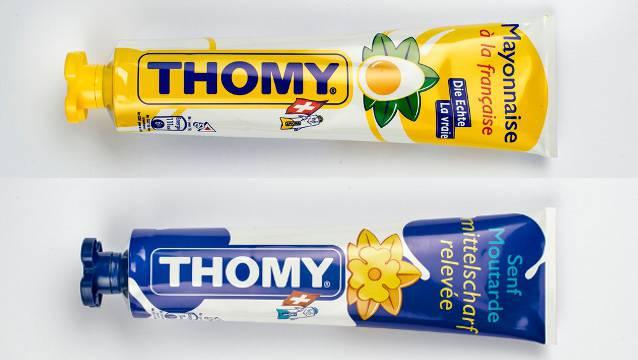 Ein Augenschein in Coop-Filialen zeigt, dass unter anderem viele Thomy-Produkte fehlen. (Archivbild)