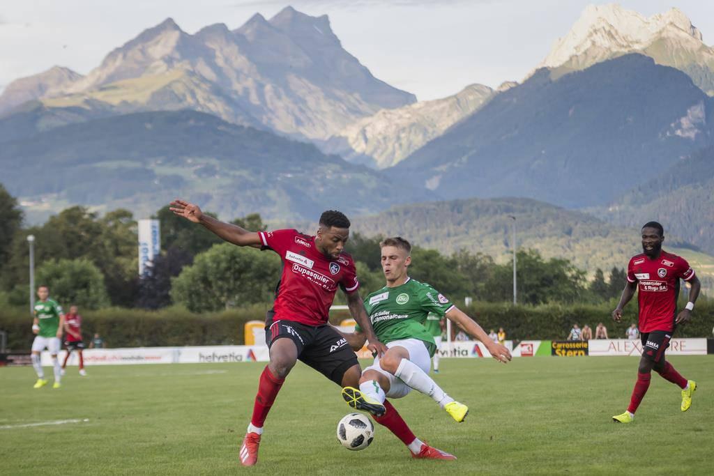 Der Walliser Club spielt in der 2. Liga interregional. (© Keystone/Jean-Christophe Bott)