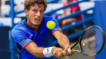 Der Spanier Pablo Carreño gewinnt im Alter von 25 Jahren seinen ersten ATP-Titel