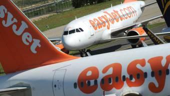 Der Billigflieger Easyjet will künftig den CO2-Ausstoss seiner Flugzeugflotte vollständig mit Klimaschutzprojekten ausgleichen. (Archiv)