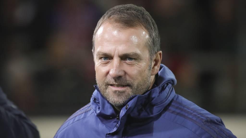 Hansi Flick bleibt bis Saisonende Trainer von Bayern München