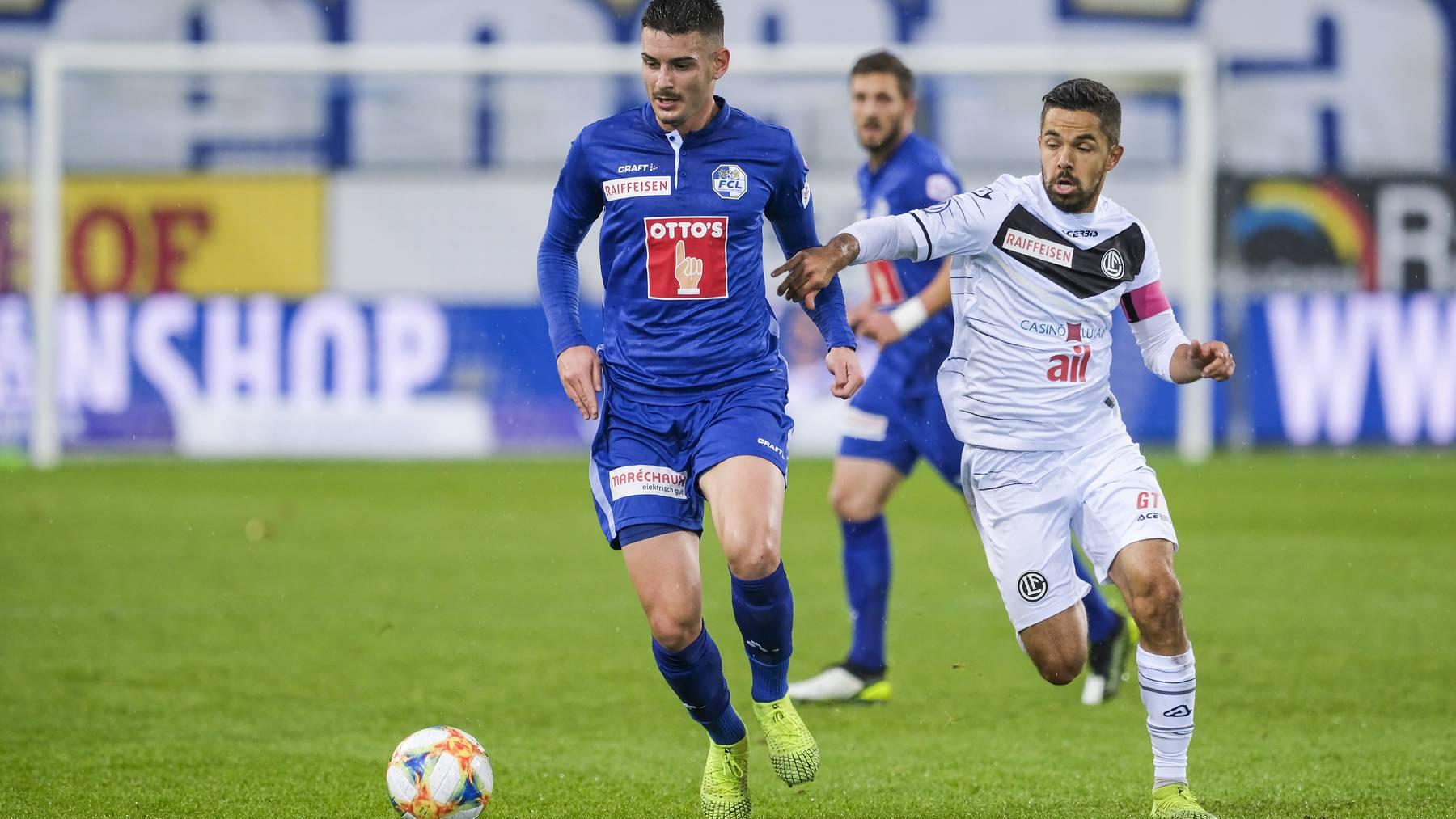 Niederlage: Der FC Luzern verliert gegen Lugano