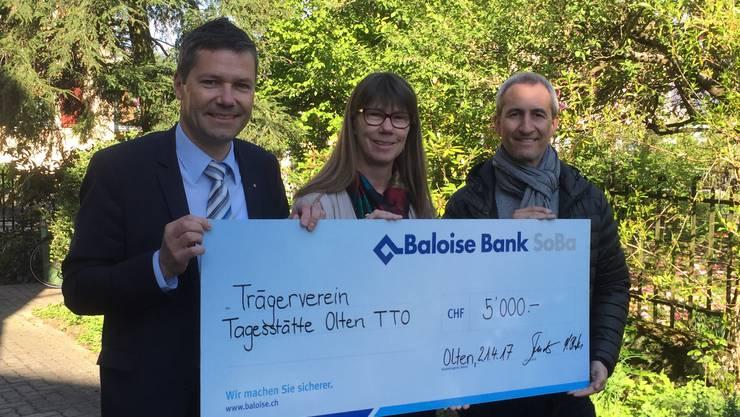 Adrian Studer Baloise Bank SoBa Olten, Brigitte Beeli, Thomas Schwab