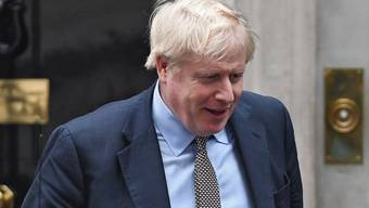 Der britische Premier Boris Johnson nach einer Kabinettssitzung in der Downing Street 10 in London.