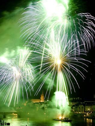 Das Basler Feuerwerk ist spektakulär