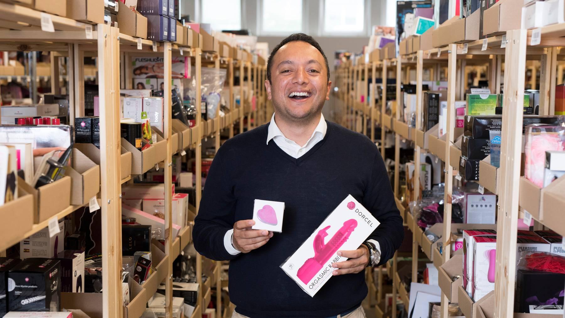 Alan Frei ist Mitbegründer und Co-Geschäftsführer des Schweizer Sextox-Onlinehändlers amorana.ch.
