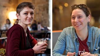 Moira Walter (SP) und Laura Gantenbein (Grüne)