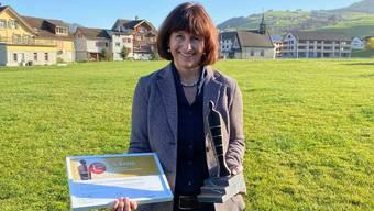 Barbara Ehrbar-Sutter, Geschäftsführerin der Breitenmoser Fleischspezialitäten AG ist stolz auf die Verleihung des Schweizer Arbeitgeber Awards 2020.