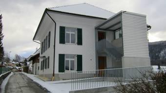 Der Umbau des Pfarrhauses konnte abgeschlossen werden
