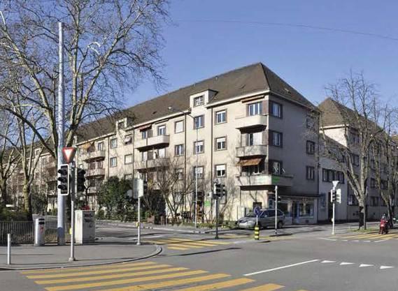 Bau an der Seebahnstrasse.