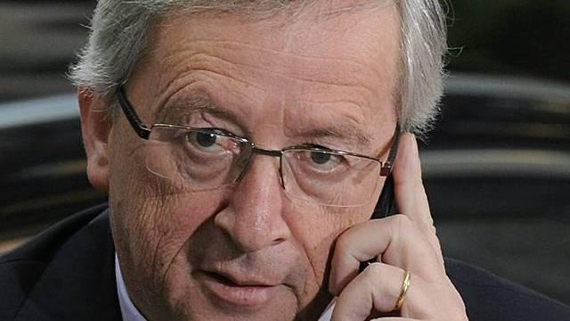 Der Euro-Finanzminister Jean-Claude Juncker äussert sich zu Spanien