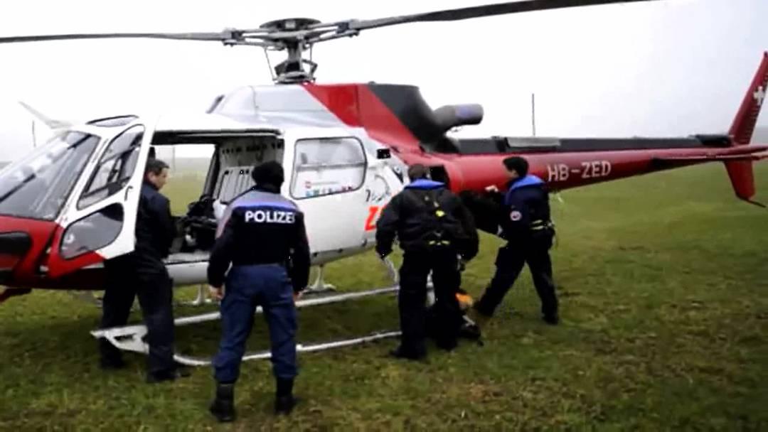 Polizei sucht nach vermisster Studenting zu Wasser und in der Luft