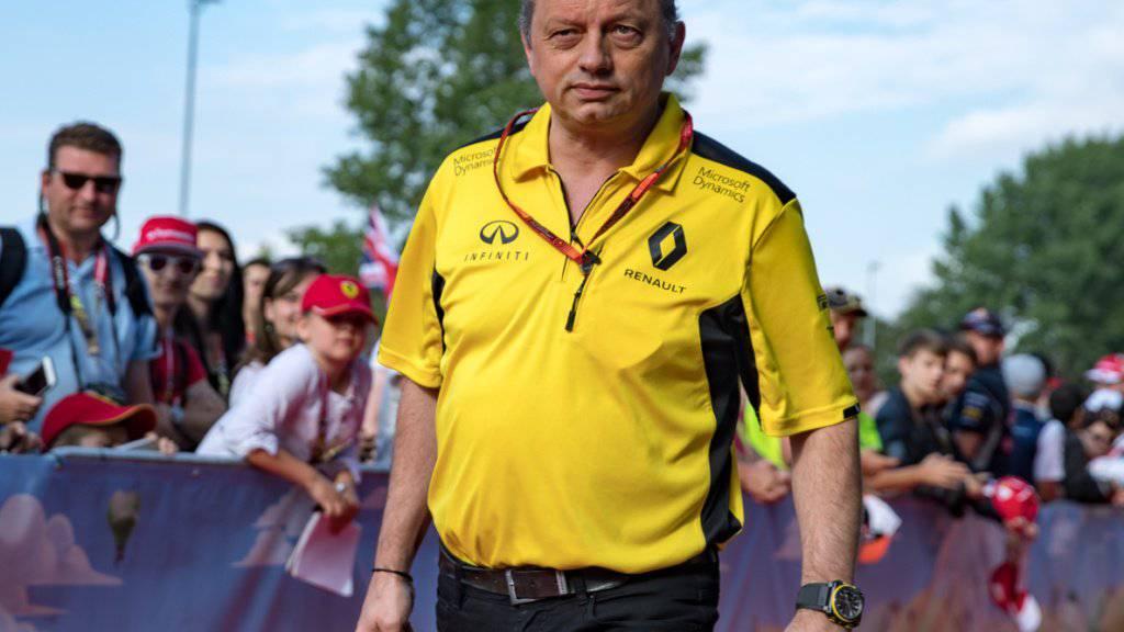 Frederic Vasseur wird der neue Teamchef im Sauber-Ferrari-Team
