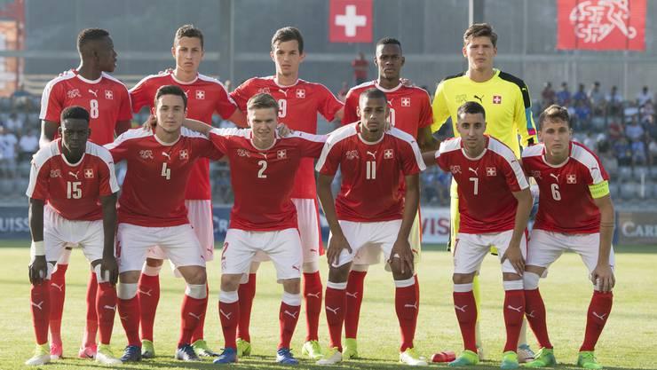 Die Schweizer U21-Nationalmannschaft beim Auftakt der EM-Qualifikation.