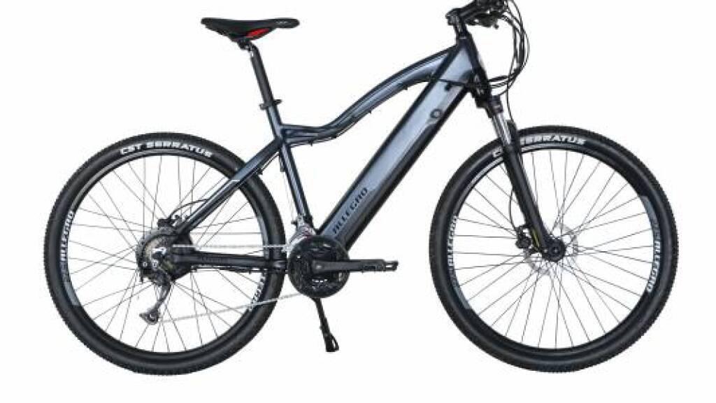 Der Akku kann in Brand geraten: Die E-Mountainbikes «Allegro CrossTour II AXU°04» grau und olive werden deshalb zurückgerufen.