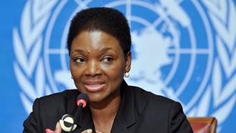 UNO-Hilfskoordinatorin Valérie Amos in Genf