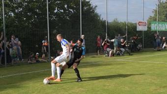 Zum 50-Jahr-Jubiläum spielte der FC Urdorf auf dem Chlösterli gegen die Grasshoppers.