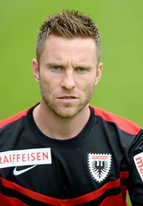 Alain Schultz spielte von 2011 bis 2014 beim FC Aarau. Zuvor war er aber auch Teil des Aarauer Teams gewesen.