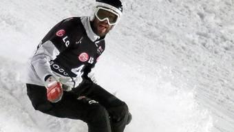 Simon Schoch fährt in Moskau auf Rang 3.