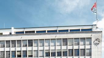 Das Wettinger Rathaus: Nicht alle Tätigkeiten der Verwaltung liessen sich auf elektronischem Weg bearbeiten, heisst es auf Anfrage.