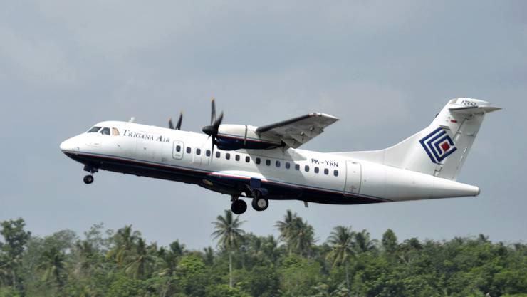 Ein indonesisches Passagierflugzeug mit 54 Menschen an Bord ist am Sonntag auf einem Inlandflug in der entlegenen östlichen Provinz Papua abgestürzt